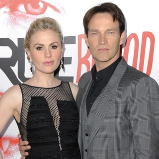 Anna Paquin, Stephen Moyer in Los Angeles Premiere for The Fifth Season of HBO's Series True Blood - Arrivals