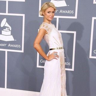 Paris Hilton in 54th Annual GRAMMY Awards - Arrivals