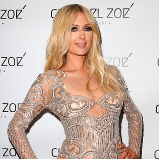 Paris Hilton - Charbel Zoe Haute Couture Store Launch