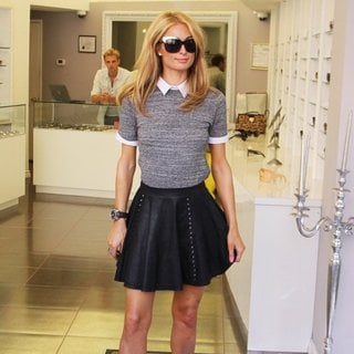 Paris Hilton Shops for Sunglasses