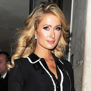 Paris Hilton Spotted Leaving Mayfair Hotel