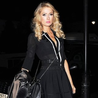 Paris Hilton-Paris Hilton Spotted Leaving Mayfair Hotel