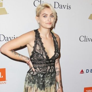 Paris Jackson in 2017 Pre-GRAMMY Gala and Salute to Industry Icons Honoring Debra Lee - Arrivals