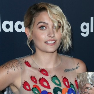 Paris Jackson in 28th Annual GLAAD Media Awards - Arrivals
