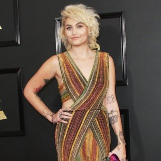Paris Jackson in 59th Annual GRAMMY Awards - Arrivals