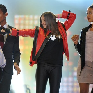 Paris Jackson in Michael Jackson Tribute Concert Held at The Cardiff Millenium Stadium