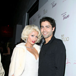 Paris Hilton, Adrian Grenier in Paris Hilton Launches Her New Frangrance 'Tease'