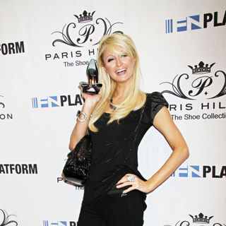 Paris Hilton - Paris Hilton Unveils Her Spring 2011 Shoe Collection at 'Magic' Convention