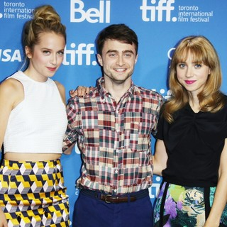 Megan Park, Daniel Radcliffe, Zoe Kazan in Toronto International Film Festival 2013 - The F Word - Photocall