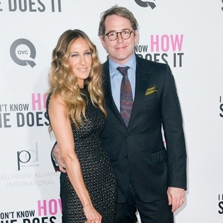 Sarah Jessica Parker, Matthew Broderick in New York Premiere of I Don't Know How She Does It - Arrivals