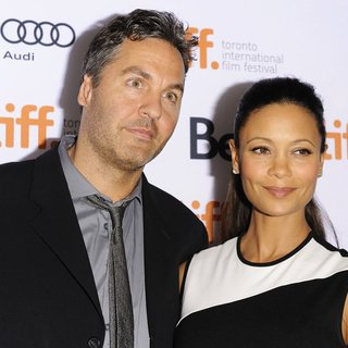 Ol Parker, Thandie Newton in Half of A Yellow Sun Premiere During The 2013 Toronto International Film Festival