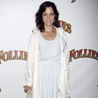 Parker Posey in Opening Night of The Broadway Musical Production of Follies - Arrivals