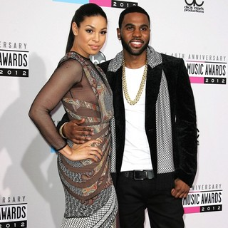 Jordin Sparks, Jason Derulo in The 40th Anniversary American Music Awards - Arrivals