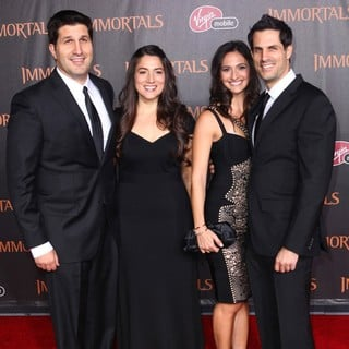 Charley Parlapanides, Vlas Parlapanides in Immortals 3D Los Angeles Premiere