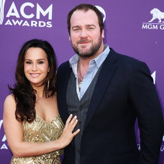 Sarah Parlinten, Lee Brice in 48th Annual ACM Awards - Arrivals