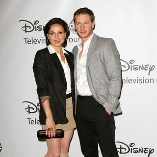 Lana Parrilla, Josh Dallas in 2011 Disney ABC Television Group Host Summer Press Tour