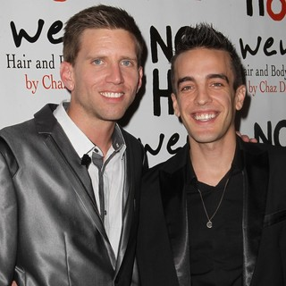 Adam Bouska, Jeff Parshley in NOH8 Celebrity Studded 4th Anniversary Party - Arrivals