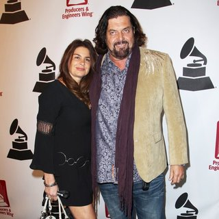 Lisa Parsons, Alan Parsons in 56th GRAMMY Awards - P and E Wing Event Honoring Neil Young