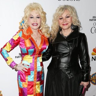 Dolly Parton, Stella Parton in Stars and Producers of Coat of Many Colors