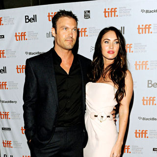 Brian Austin Green, Megan Fox in 35th Toronto International Film Festival - 'Passion Play' Premiere