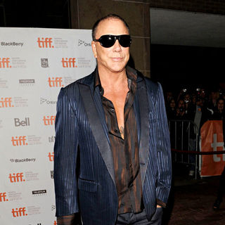 Mickey Rourke in 35th Toronto International Film Festival - 'Passion Play' Premiere