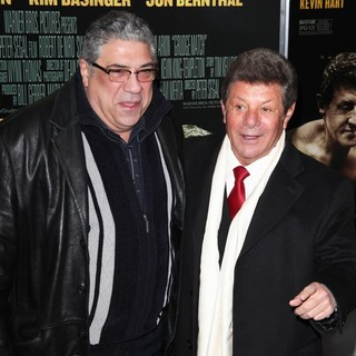 Vincent Pastore, Frankie Avalon in Grudge Match New York Screening - Red Carpet Arrivals