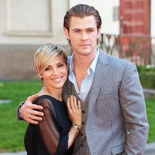 Elsa Pataky, Chris Hemsworth in World Premiere of Rush - Arrivals