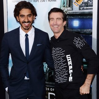 Dev Patel, Sharlto Copley in World Premiere of Chappie - Red Carpet Arrivals
