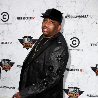Patrice O'Neal in Comedy Central Roast of Charlie Sheen - Arrivals