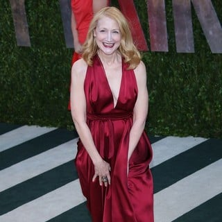 Patricia Clarkson in 2013 Vanity Fair Oscar Party - Arrivals