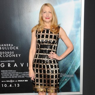 Patricia Clarkson in New York Premiere of Gravity - Arrivals