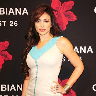 Patricia De Leon in The Colombiana Miami Red Carpet Screening