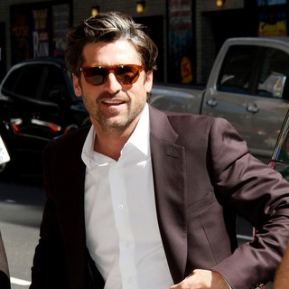 Patrick Dempsey in The Late Show with David Letterman - Arrivals