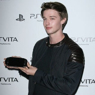 Patrick Schwarzenegger in Sony Playstation PS Vita Portable Entertainment System Launch Party