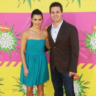 Danica Patrick, Ricky Stenhouse, Jr. in Nickelodeon's 26th Annual Kids' Choice Awards - Arrivals