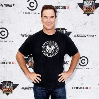 Patrick Warburton in Comedy Central Roast of Charlie Sheen - Arrivals