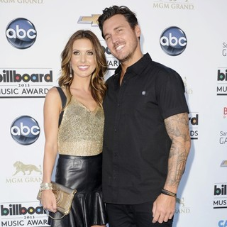 Audrina Patridge in 2013 Billboard Music Awards - Arrivals - patridge-bohan-2013-billboard-music-awards-02