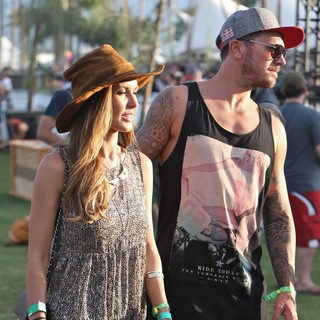 Audrina Patridge, Corey Bohan in The 2013 Coachella Valley Music and Arts Festival - Week 1 Day 2