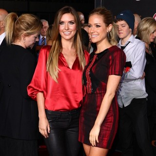 Audrina Patridge, Kristin Cavallari in Immortals 3D Los Angeles Premiere