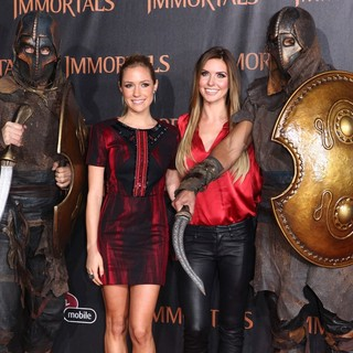 Kristin Cavallari, Audrina Patridge in Immortals 3D Los Angeles Premiere