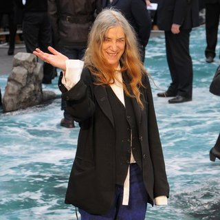 Patti Smith in U.K. Premiere of Noah - Arrivals