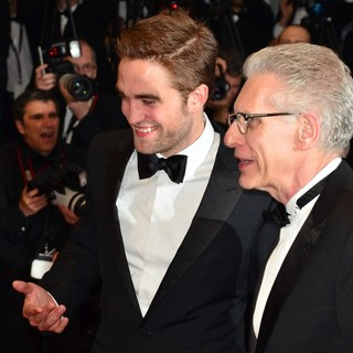 Robert Pattinson, David Cronenberg in Cosmopolis Premiere - During The 65th Annual Cannes Film Festival