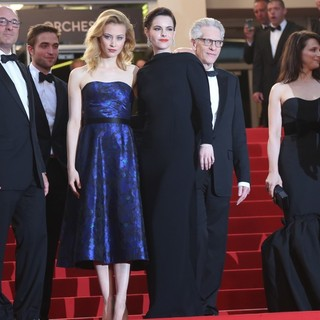 Martin Katz, Robert Pattinson, Sarah Gadon, Emily Hampshire, David Cronenberg, Juliette Binoche in Cosmopolis Premiere - During The 65th Annual Cannes Film Festival