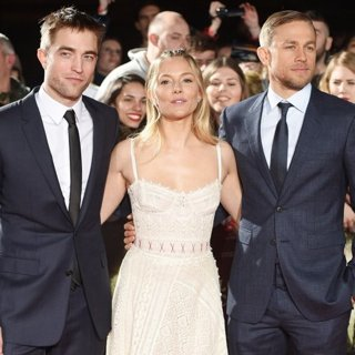 Robert Pattinson, Sienna Miller, Charlie Hunnam-The Lost City of Z UK Premiere