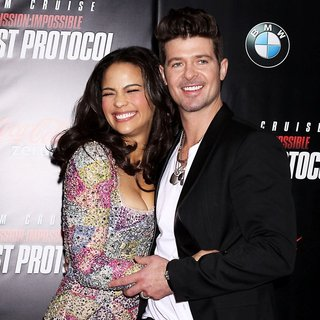 Robin Thicke - New York Premiere of Mission: Impossible Ghost Protocol