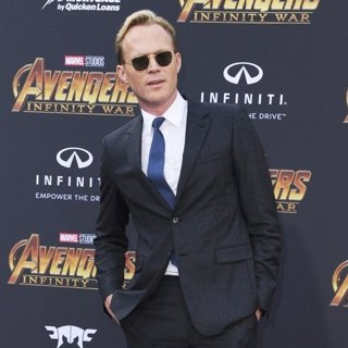 Paul Bettany in Avengers: Infinity War Premiere