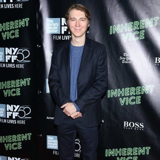 Paul Dano in 52nd New York Film Festival - Inherent Vice - Premiere - Red Carpet Arrivals