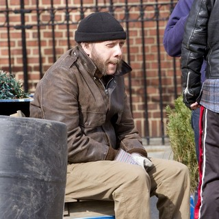 Paul Giamatti in Filming on Location The Comedy Movie Lucky Dog