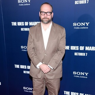 Paul Giamatti in New York Premiere of The Ides of March - Arrivals