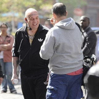 Paul Giamatti in On The Set of The Amazing Spider-Man 2